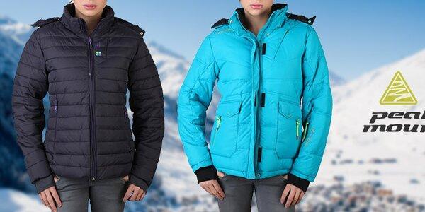 Zahřejte se s dámskými bundami Peak Mountain