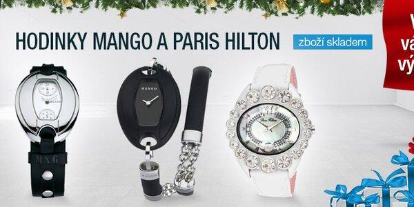 Hodinky Mango a Paris Hilton
