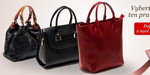Elegantní kabelky pro slečny i pro dámy s doručením do 2 dnů!