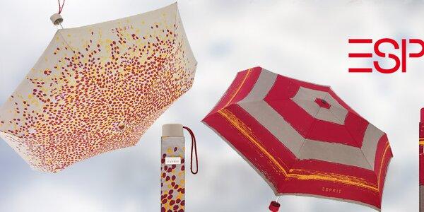 Vesele barevné deštníky Esprit