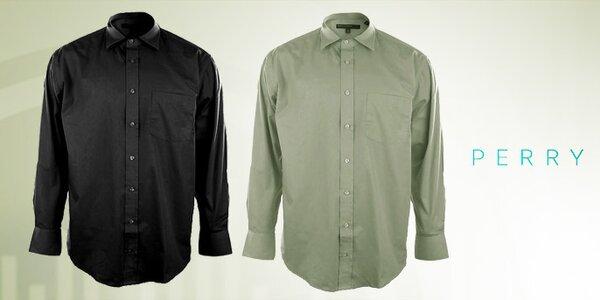 Nádherně barevné pánské košile Perry Ellis
