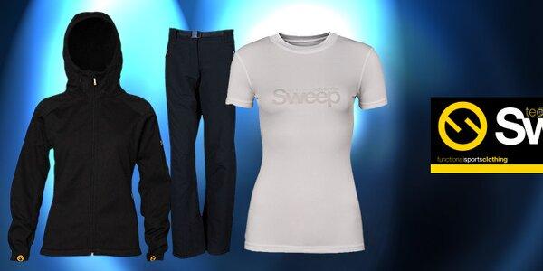 Dámské sportovní oblečení české značky Sweep