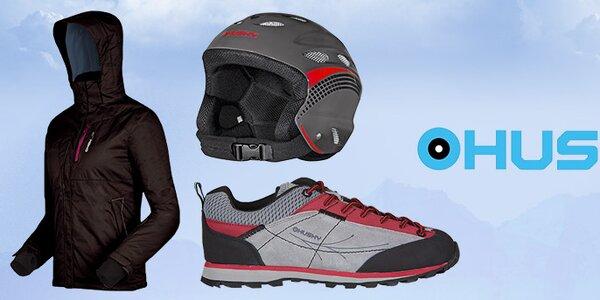 Sportovní vybavení na hory i do města Husky