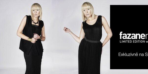 Originální dámská móda britské návrhářky Fazane Malik
