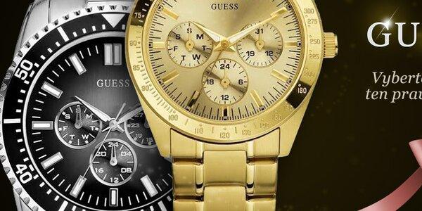 Udělejte (si) radost se stylovými hodinkami Guess