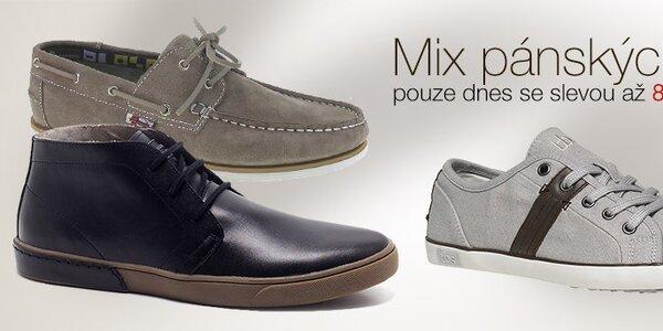 Pánské boty za skvělé ceny - pouze dnes!