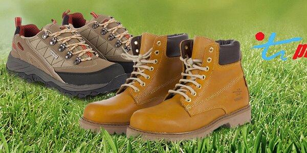 Kvalitní outdoorová a běžecká obuv Praylas