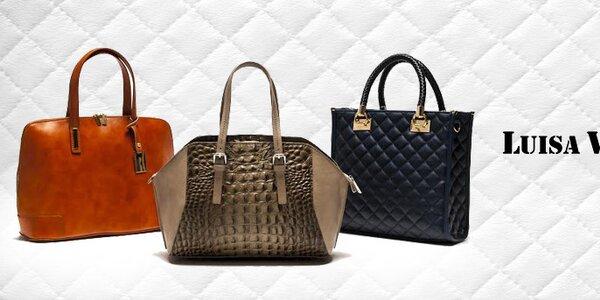Italský luxus a ikonická elegance kabelek Luisa Vannini