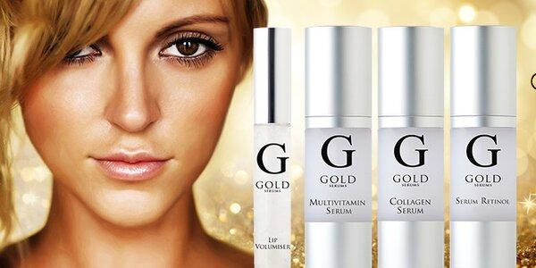 Gold Serums - péče o pleť nad zlato