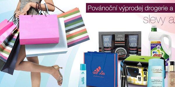Povánoční výprodej kosmetiky