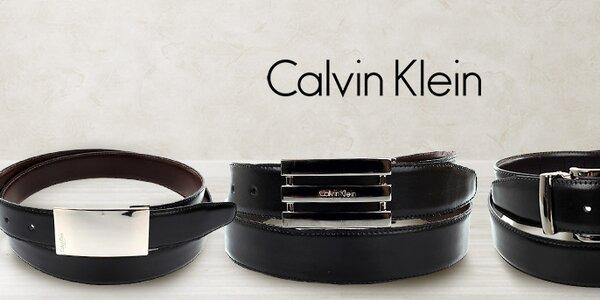 Nadčasově elegantní pánské pásky Calvin Klein