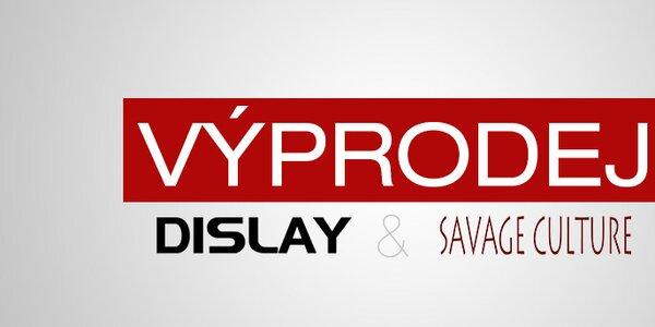 Výprodej oblíbených značek DY Dislay Design a Savage Culture