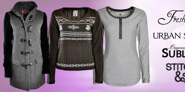 Městská móda pro dámy - Fresh Made, Sublevel, Stitch&Soul