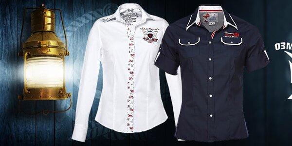 Dámské sportovně elegantní košile a trička M. Conte