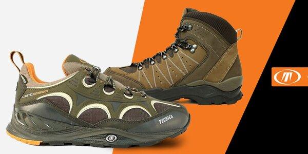 Kvalitní pánské trekové a sportovní boty Tecnica