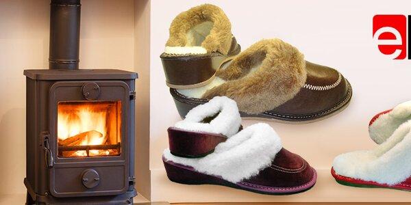 teploučké papučky Elbit pro každé nožky