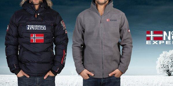 Pánské oblečení Geographical Norway - užijte si zimu!