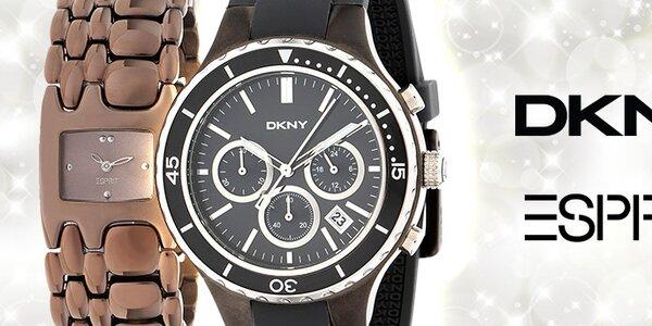 Stylové hodinky DKNY a Esprit pro pány i pro dámy