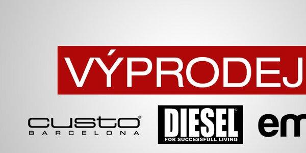 Dámské oblečení a doplňky Diesel, Custo Barcelona a Emoi - vše skladem