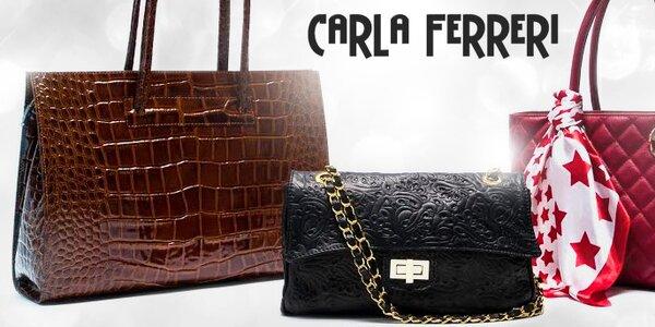 Nestárnoucí elegance italských kabelek Carla Ferreri