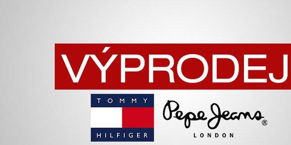Výprodej oblíbených denimových značek Tommy Hilfiger a Pepe Jeans