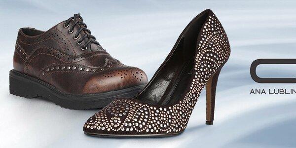 Designové boty Ana Lublin pro elegantní dámy i rebelky