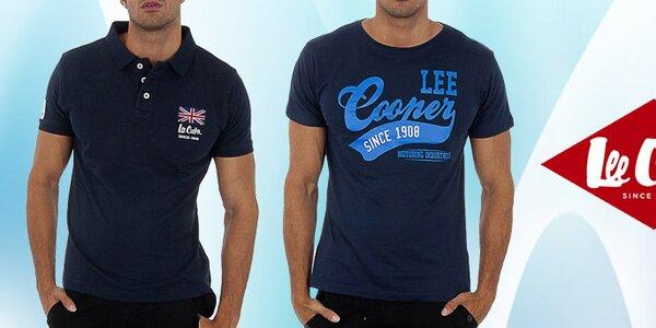 Stylová pánská pola a trička s potiskem Lee Cooper