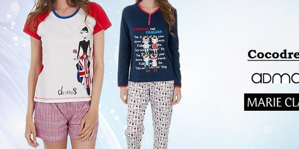 Veselá a stylová dámská pyžama a noční košile