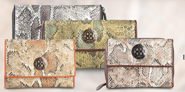 Dámské peněženky Cavalli B. se stylovým hadím vzorem