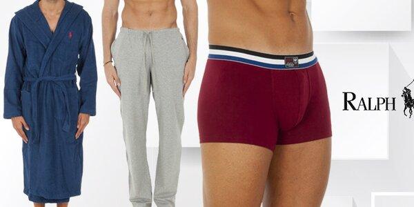Stylové pánské spodní prádlo a trička Ralph Lauren