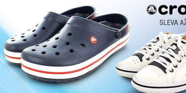 Pohodlné a lehoučké pánské boty Crocs