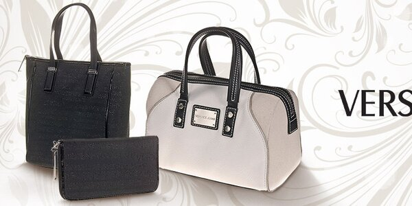 Luxusní dámské kabelky, boty a peněženky Versace Jeans