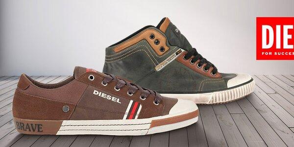 Pánské boty Diesel - klasika nejen k džínám