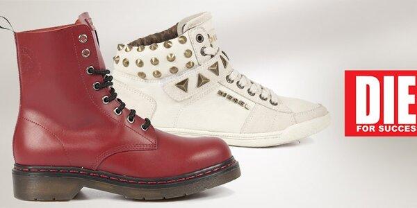 Dámské boty Diesel - klasika nejen k džínám