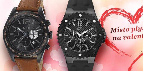 Dárek k Valentýnu - pánské hodinky známých značek