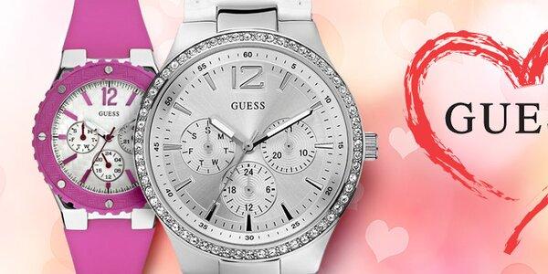 Dárek k Valentýnu - luxusní dámské hodinky Guess