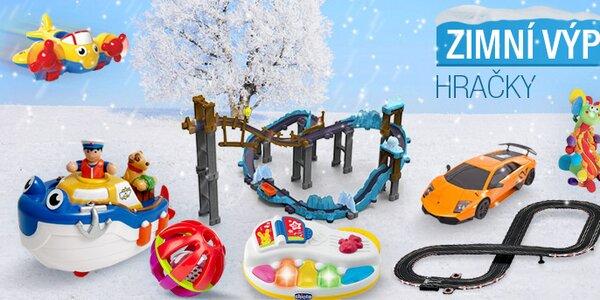 Zimní výprodej hraček