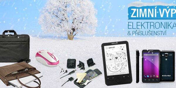 Zimní výprodej elektroniky a příslušenství