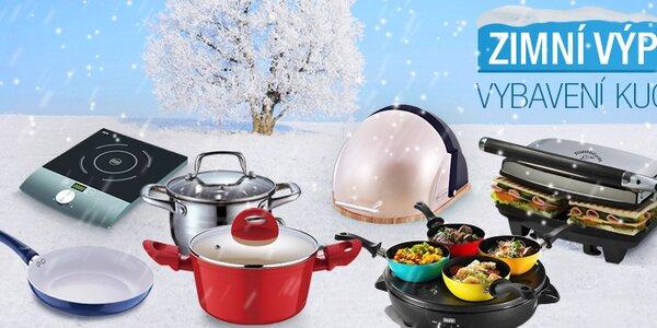 Zimní výprodej kuchyňského vybavení