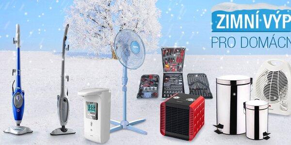 Zimní výprodej vybavení domácnosti