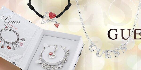 Originální značkové dámské šperky Guess