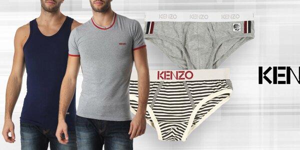 Pohodlné pánské spodní prádlo, trička a tílka Kenzo