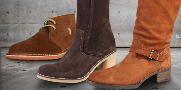 Kvalitní dámská obuv U.S. Polo