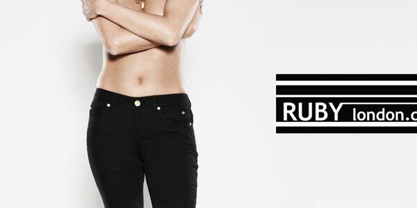 Dámské džíny různých barev a stylů Ruby London