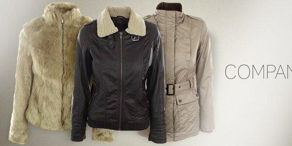 Elegantní kabáty, kožíšky a bundy Company&Co