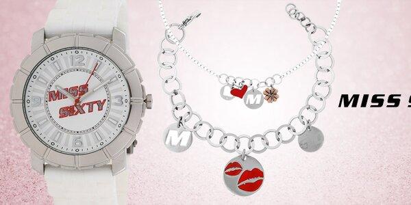Stylové dámské doplňky - šperky a hodinky Miss Sixty