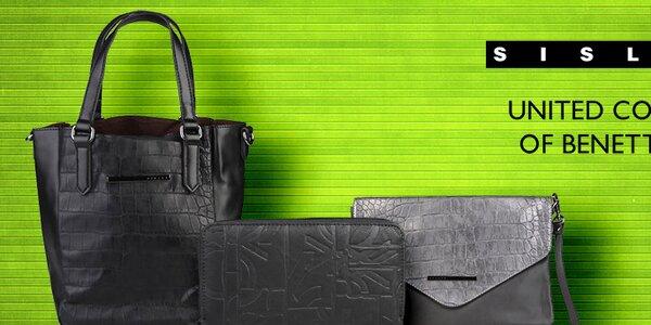 Nápadité dámské kabelky a peněženky Sisley a Benetton