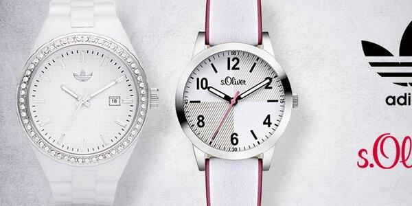 Sportovní i elegantní hodinky Adidas a S. Oliver