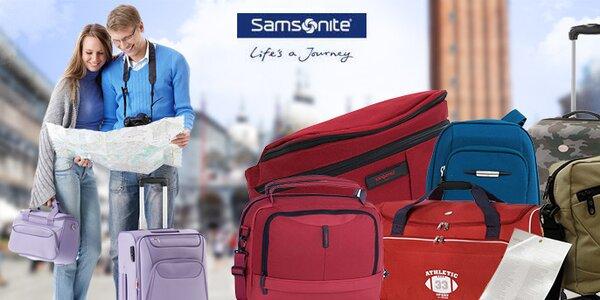 """Samsonite """"life´s a journey"""" ..u nás za skvělé ceny"""
