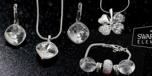 Lesk a barvy oblíbených dámských šperků Swarovski